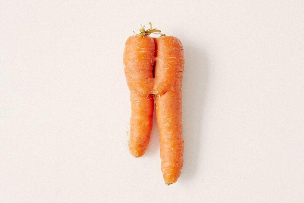 krummes Gemüse findest du in der Gemüse-Box von etepetete