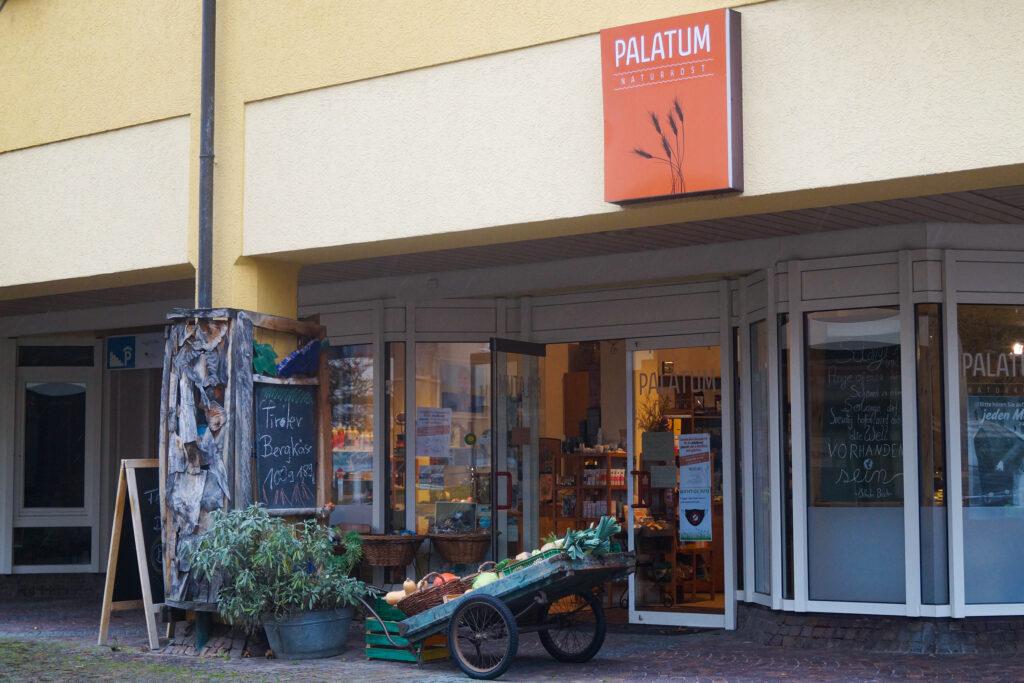 Der Bio-Laden Plantum im Achern hat auch zu Corona Zeiten offen.
