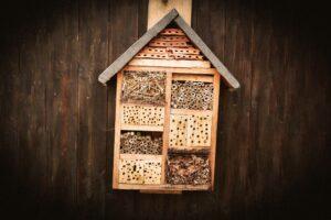 Ein Insektenhaus ist ein gutes Mittel gegen Insektensterben
