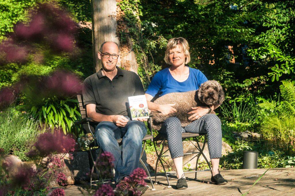 Tiergestützte Therapie mit Dr. Rainer Wohlfarth und Bettina Mutschler