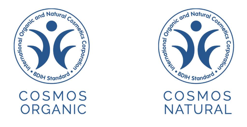 Beispiele für die BDIH Naturkostmetik Siegel